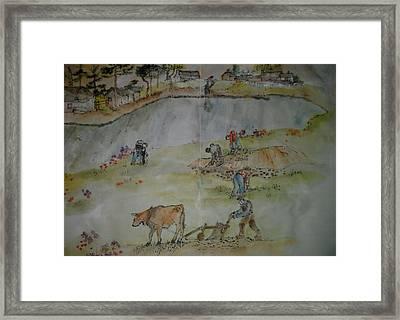 Van Gogh My Way Album Framed Print by Debbi Saccomanno Chan