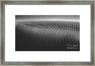 White Sands New Mexico Framed Print by Gregory Dyer
