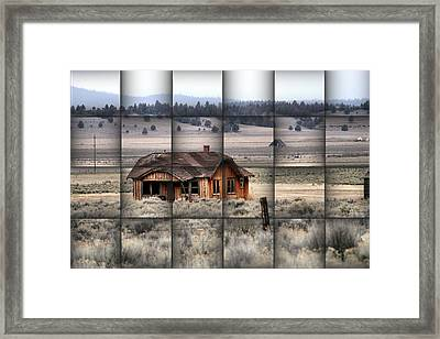 140 Homestead Weave Framed Print by Ray Finch