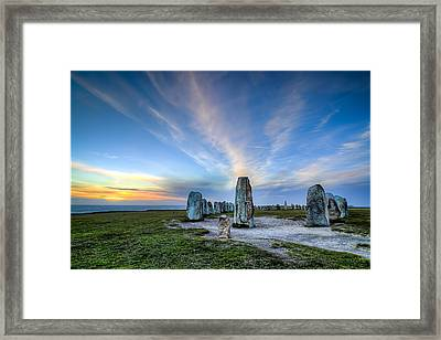 1414 Years Later Framed Print