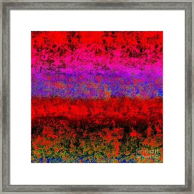 1423 Abstract Thought Framed Print