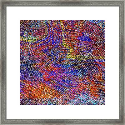 1429 Abstract Thought Framed Print by Chowdary V Arikatla