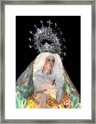 143 Semana Santa In Olvera Framed Print by Patrick King