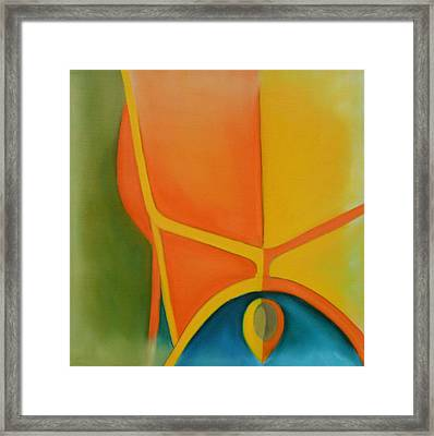 143 'yellow Or' Framed Print by Gregory Otvos