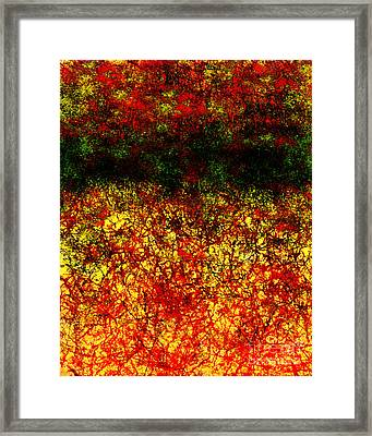 1437 Abstract Thought Framed Print by Chowdary V Arikatla