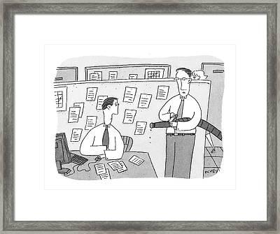 In Lieu Of The Surprise Drug Tests Framed Print