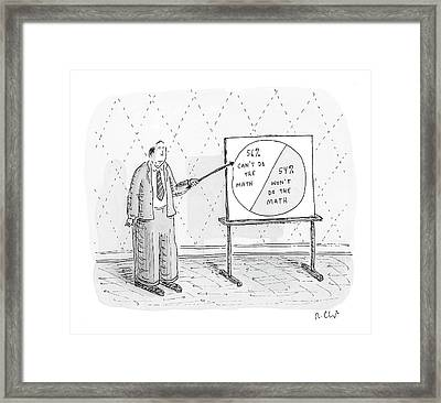 New Yorker November 5th, 2007 Framed Print by Roz Chast