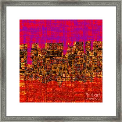 1457 Abstract Thought Framed Print by Chowdary V Arikatla