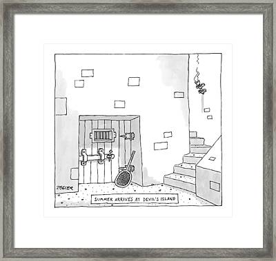 Captionless Framed Print
