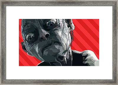 147. Wicked  Tricksy  False Framed Print by Tam