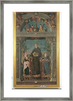 Italy, Lombardy, Milan, Brera Art Framed Print
