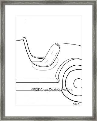149-ls  'edsel Flassher' Framed Print by Gregory Otvos