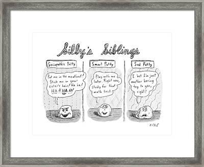New Yorker August 3rd, 2009 Framed Print