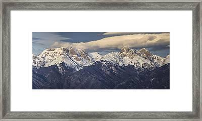 14er Panorama 2 Framed Print