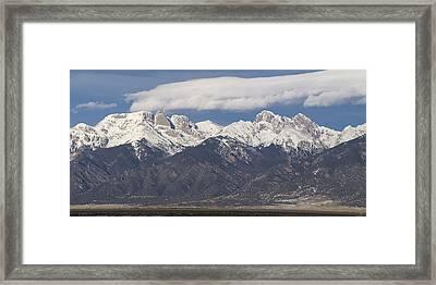 14er Panorama Framed Print