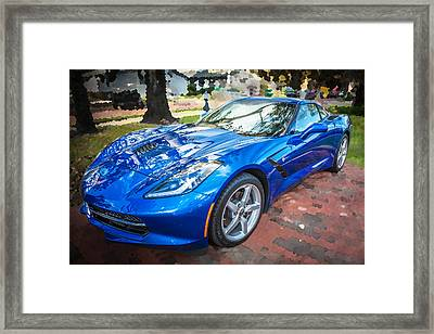 2014 Chevrolet Corvette C7 Framed Print by Rich Franco