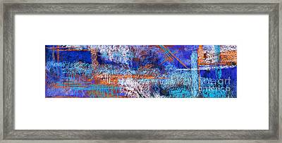 Under Construction Framed Print by Tracy L Teeter