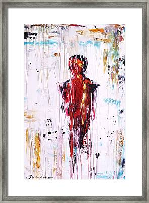 Abstract Painting  Framed Print by Jolina Anthony