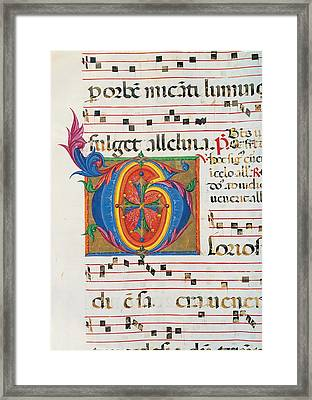 Anonymous Sienese Painter, Day Framed Print by Everett