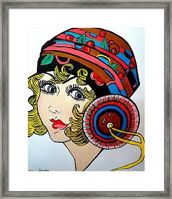 Art Deco  Ann Framed Print