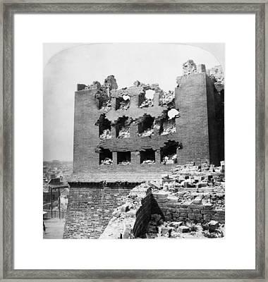 China Boxer Rebellion Framed Print by Granger