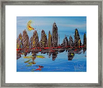 Cityscape Framed Print by Mark Kazav