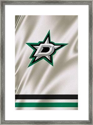 Dallas Stars Framed Print by Joe Hamilton