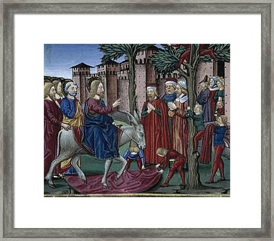 De Predis, Cristoforo 1440-1486 Framed Print by Everett