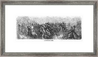 Dor� London, 1873 Framed Print