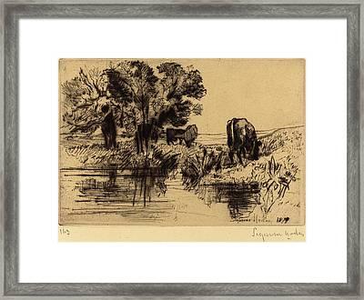Francis Seymour Haden British, 1818 - 1910 Framed Print by Quint Lox