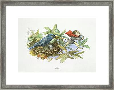 In Fairy Land Framed Print by British Library