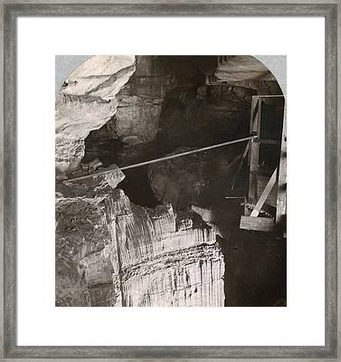 Kentucky Mammoth Cave Framed Print