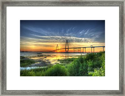 Lowcountry Sunset Framed Print