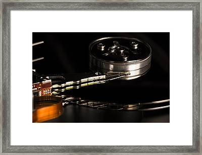 15 Megabytes Of Useless Information Framed Print by Andrew Pacheco