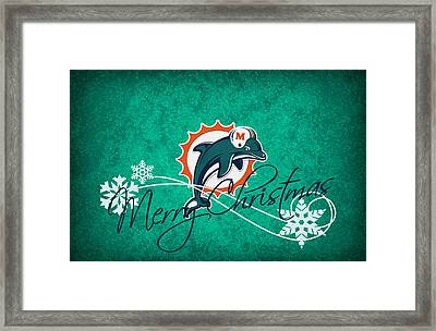 Miami Dolphins Framed Print