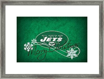 New York Jets Framed Print