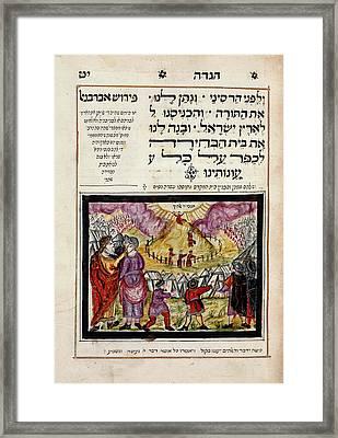Passover Haggadah Framed Print