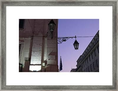 Portugal, Lisbon Framed Print