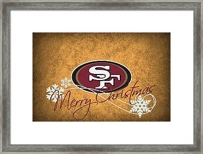 San Francisco 49ers Framed Print