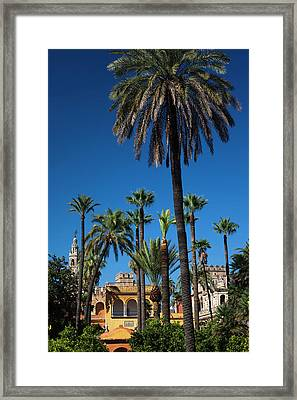 Spain, Andalucia Region, Seville Framed Print