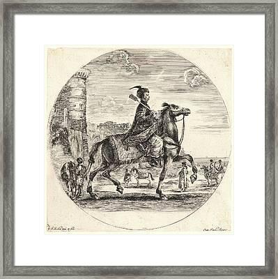 Stefano Della Bella Italian Framed Print by Litz Collection