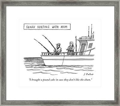 New Yorker September 7th, 2009 Framed Print by Joe Dator
