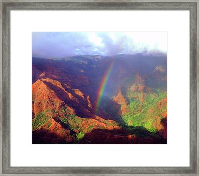Usa, Hawaii, Kauai Framed Print