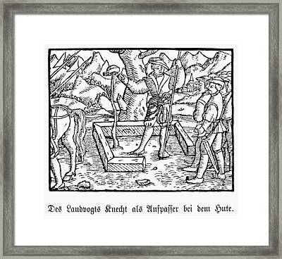 William Tell Framed Print by Granger