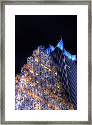 1501 Broadway - Paramount Building - Times Square New York Framed Print