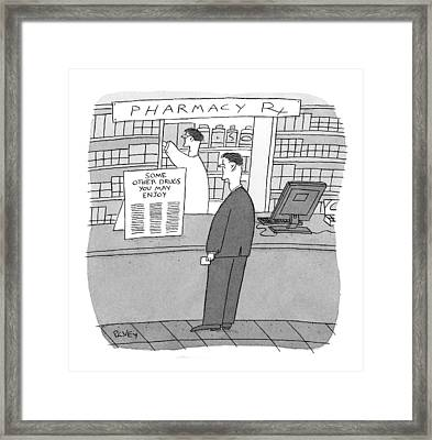 New Yorker May 25th, 2009 Framed Print