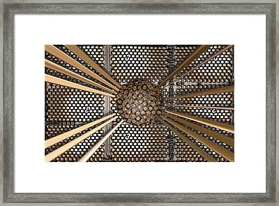 156 Bit Core Framed Print by Ron Bissett