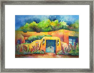 157 Old Lamy Trail Framed Print