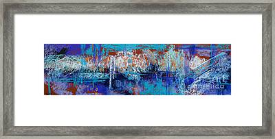 Bridges To Nowhere Framed Print by Tracy L Teeter