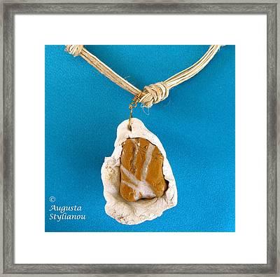 Aphrodite Gamelioi Necklace Framed Print